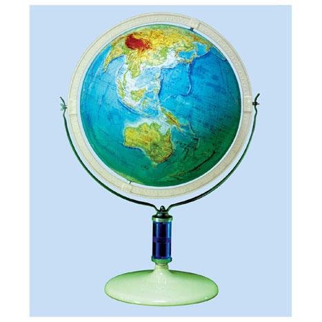 【メーカー直送】【送料無料】グローバルプランニング 地球儀 球径43cm 地勢 GP-435【楽ギフ_のし】