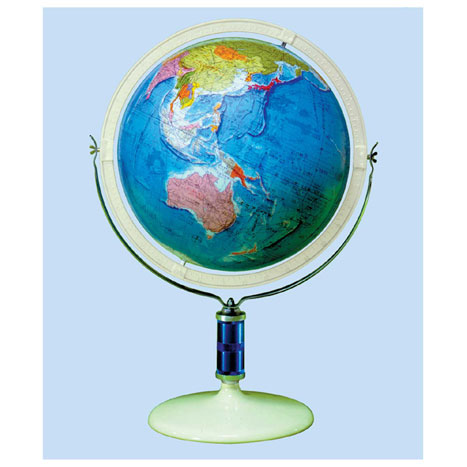 【メーカー直送】【送料無料】グローバルプランニング 地球儀 球径43cm 行政 GP-436【楽ギフ_のし】