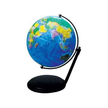【メーカー直送】【送料無料】グローバルプランニング アクリル地球儀 球径26cm 行政 GPA-262【楽ギフ_のし】