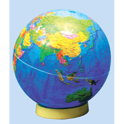 【メーカー直送】【送料無料】グローバルプランニング アクリル地球儀 球径51cm 英語 GPA-51E【楽ギフ_のし】
