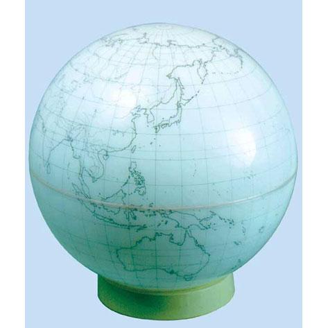【メーカー直送】【送料無料】グローバルプランニング アクリル地球儀 球径51cm 白地図 GPA-51W【楽ギフ_のし】
