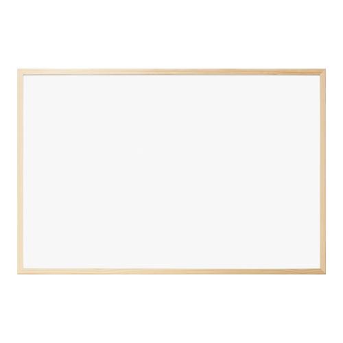 木のぬくもりがやさしい インテリアに合うホワイトボードです ナカバヤシ W900×H600×D14mm 新着セール ウッドホワイトボード WBM-E9060NMナチュラル木目 激安