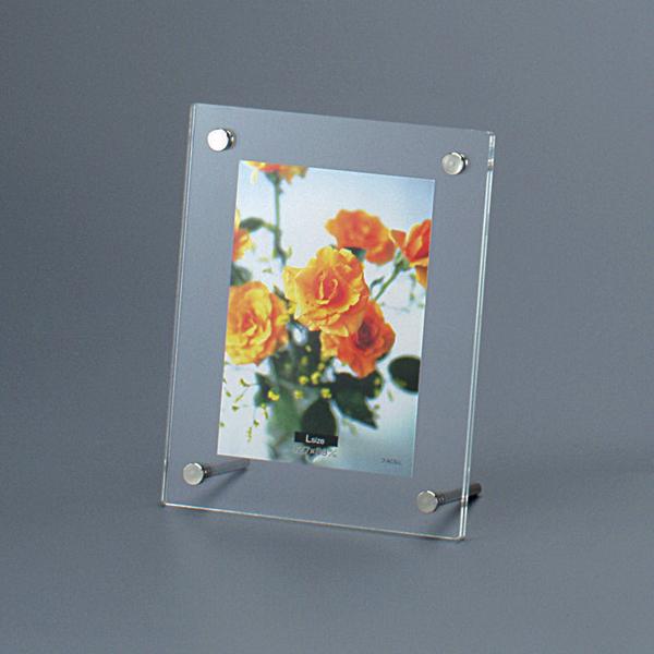 フォトフレーム 写真 タテ・ヨコ飾れる透明アクリルフォトスタンド。 アクリルフレーム フォトフレーム ピクチャーフレーム スタンドタイプ 写真立て L判プリント用 フ-ACS-L #301#