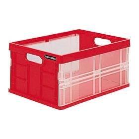 新生活応援!折りたたみ可能な収納ボックス! ナカバヤシ キャパティ フレックスコンテナ ミニ CFC-301-R レッド 収納ボックス 収納用品