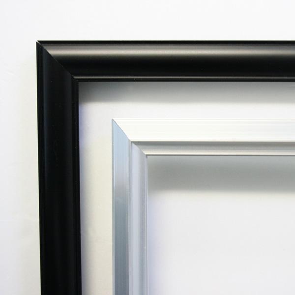 【メーカー直送】ナカバヤシ オーダーフレーム アルミA 851-900mm(透明版:アクリル) frame-aa851-900a #300#