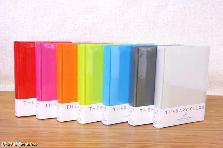 Fueru Album Pocket Nakabayashi Therapy Color Tall Round Book Style
