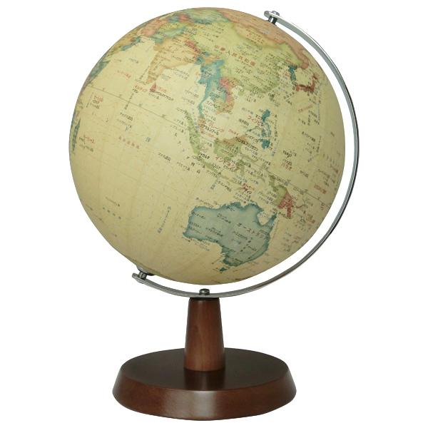 【メーカー直送】【送料無料】昭和カートン SHOWAGLOBES 地球儀 アンティークタイプ 球径26cm