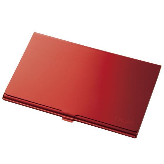開店記念セール 最安値 アルミ素材のSDメモリーカードケース ナカバヤシ Digio2 レッド SDメモリーカードケース MCC-801R