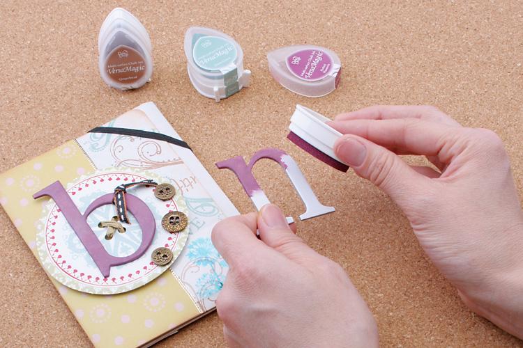 Fueru Stamp Ink TSUKINEKO Luck Cat Brilliance Dew Drop Platinum