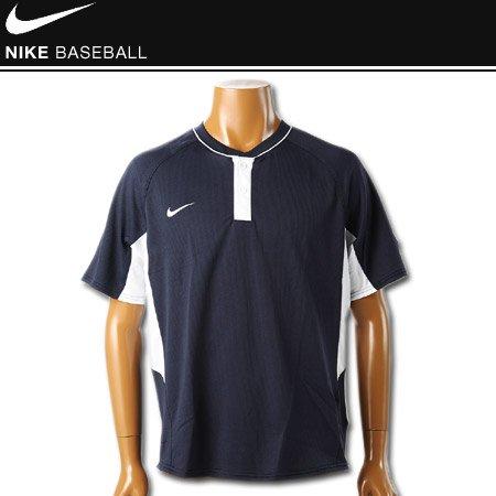 나이키 야구 사례 ヘンリ 넥 반 소매 셔츠 FIT DRY