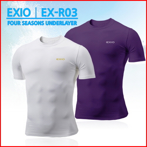 High functional underwear short sleeve