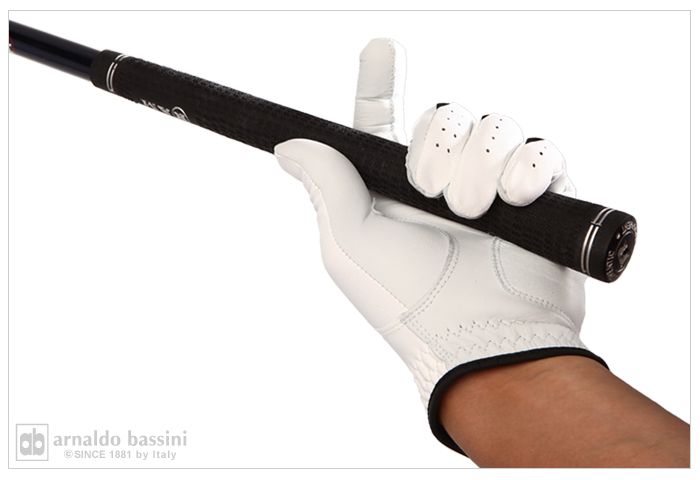 N Golf Gloves half-sheep leather specifications right-handed / left hand stock is (son)