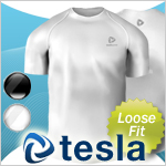 Time limited special Tesla high-performance underwear loose-fit short sleeve