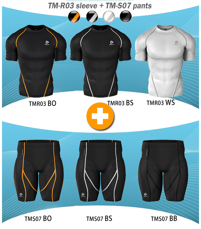 N leave stock disposal special Tesla high-performance underwear short sleeve top and bottom set
