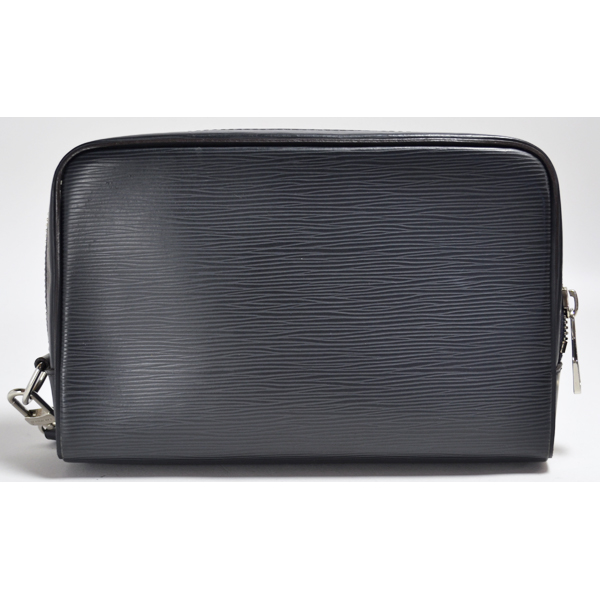 Louis Vuitton EPI leather no OSH M54172 clutch Noir LOUIS VUITTON