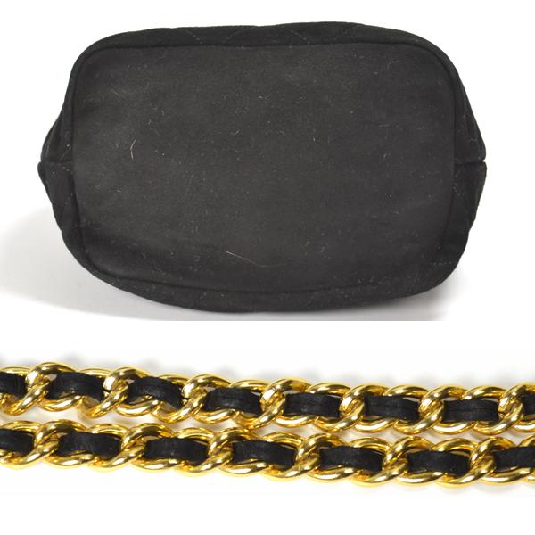 PRADA  Prada  suede   chain shoulder bag  black  Women s  Pre-owned  3c5dead3c7
