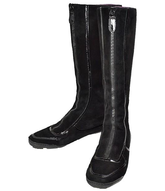 【キャッシュレス5%還元】COLE HAAN/コールハーン/レディース/ブーツ/黒/7.5 24.5cm 【中古】