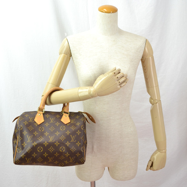 35d47c5ce7 LOUIS VUITTON and Louis Vuitton Monogram speedy 25 / M/41528/Brown [pre]  and [free shipping]