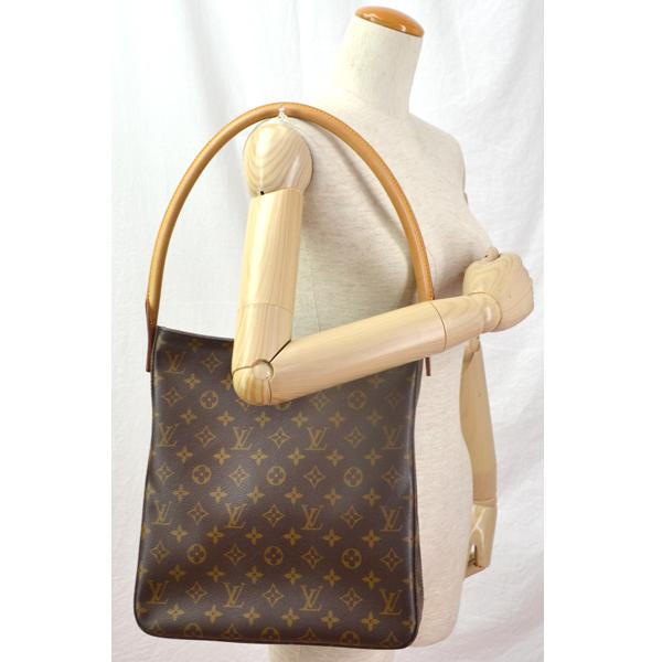 be042d4b6a70 Louis Vuitton Monogram looping GM M51145 Brown Louis Vuitton shoulder bag  Vuitton bag Shoulder Bag LOUIS VUITTON