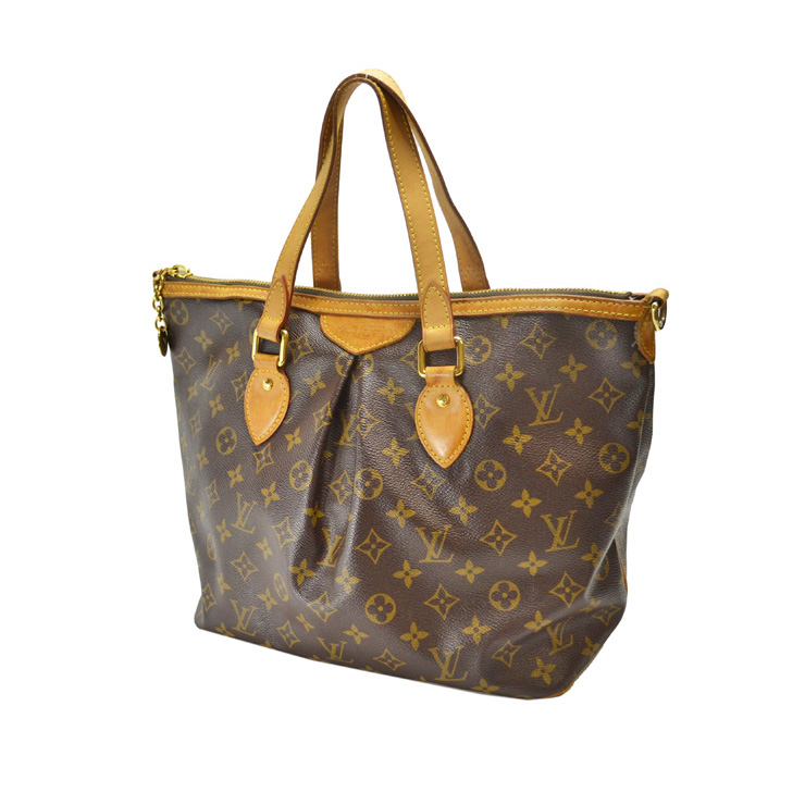 89265610adab LOUIS VUITTON   Louis Vuitton   Monogram   Palermo PM M40145   shoulder bag    Brown  used   free shipping