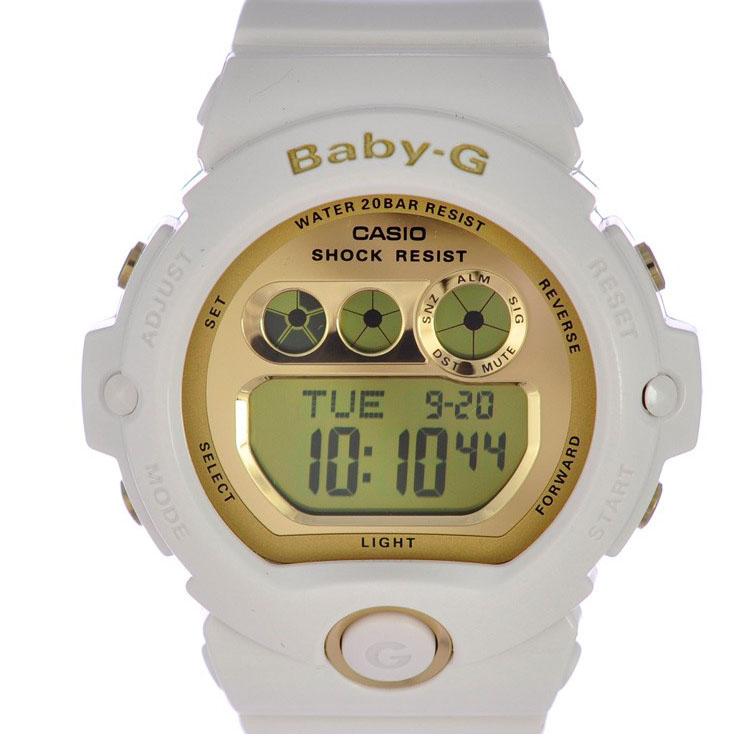 【キャッシュレス5%還元】カシオ 腕時計 レディース 樹脂 BABY-G BG-6901-7JF CASIO 文字盤ゴールド クオーツ 【新品】【送料無料】