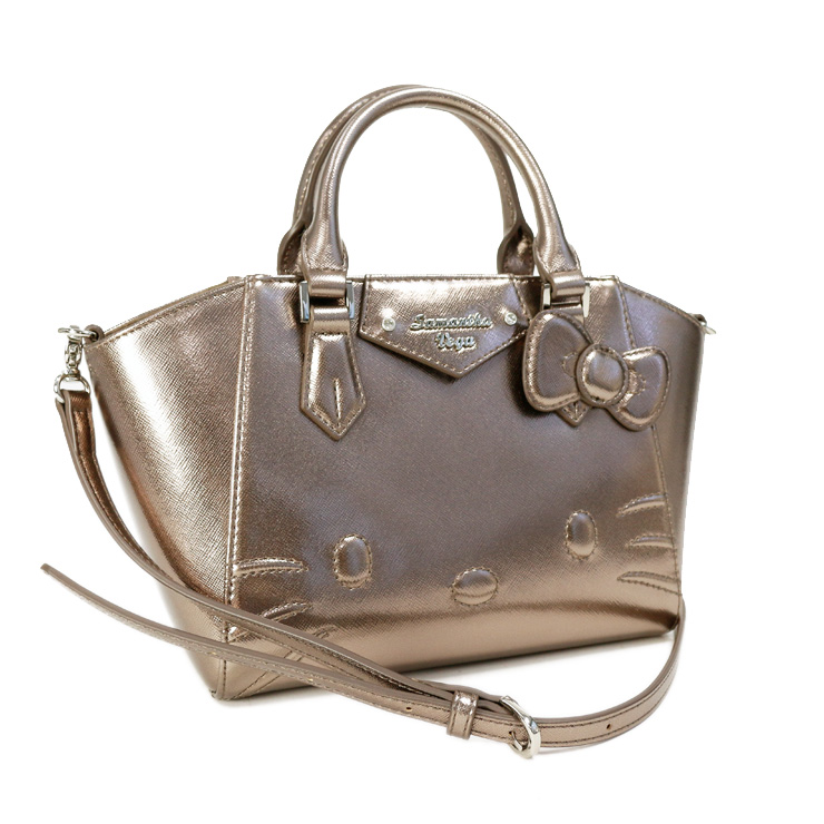 301330ebe Samantha Vega handbag Hello Kitty Azel size small 2way Samantha Vega  metallic silver system ...