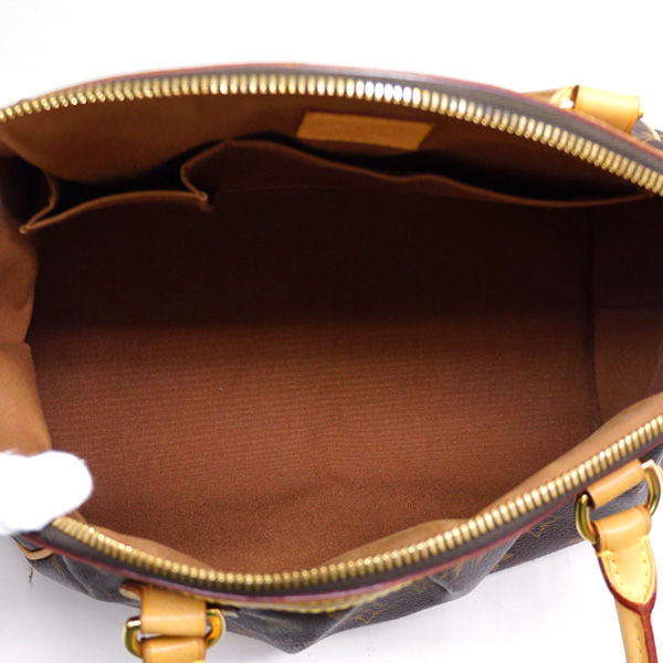 ルイヴィトン ハンドバッグ モノグラム ティボリPM M40143 LOUIS VUITTON ブラウン送料無料dBWxeCro