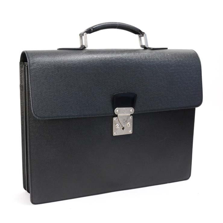 【中古】ルイヴィトン ビジネスバッグ タイガ セルヴィエットモスコバ M30032 LOUIS VUITTON アルドワーズ メンズ かばん ブリーフケース 【送料無料】