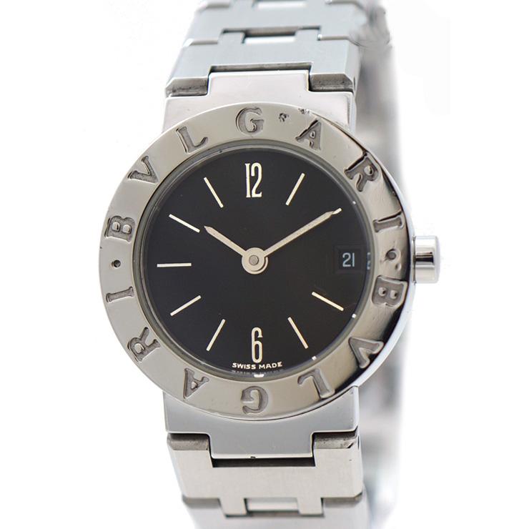 ブルガリ 腕時計 ブルガリブルガリ BB23SS BVLGARI クォーツ レディース ブラック 人気 【中古】【送料無料】