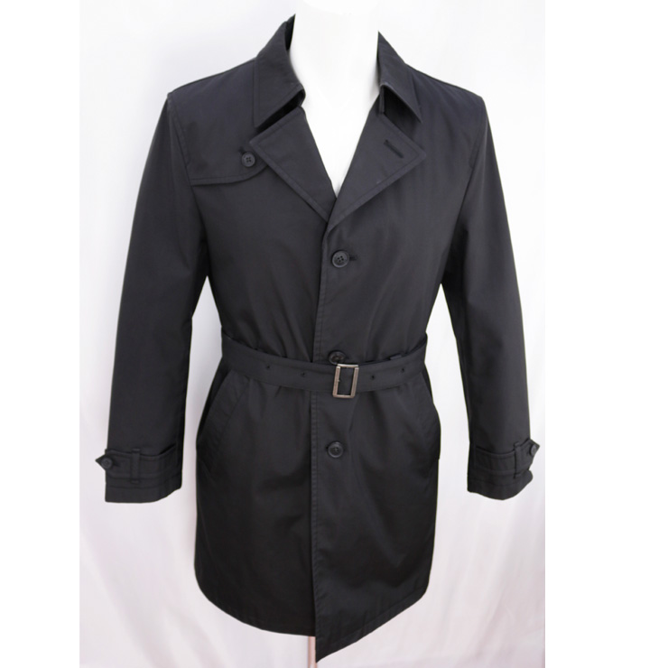 【中古】バーバリーブラックレーベル コート メンズ ブラック サイズM BURBERRY BLACK LABEL [送料無料]