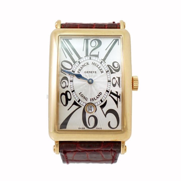 【中古】フランクミュラー メンズ腕時計 ロングアイランド 1150 SC DT K18 自動巻き FRANCK MULLER [送料無料]