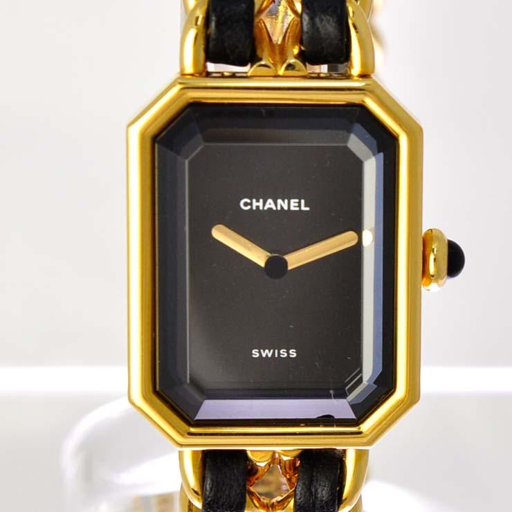 premium selection 2e010 d3d4a シャネル オンライン 腕時計 レディース プルミエールL クォーツ ...