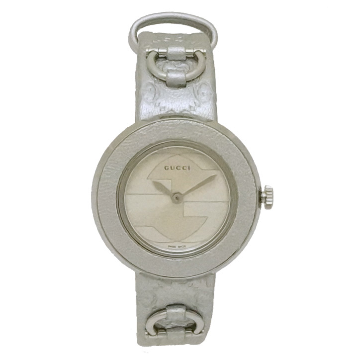 【中古】グッチ ユープレイ 腕時計 129.5 クォーツ GUCCI [送料無料]