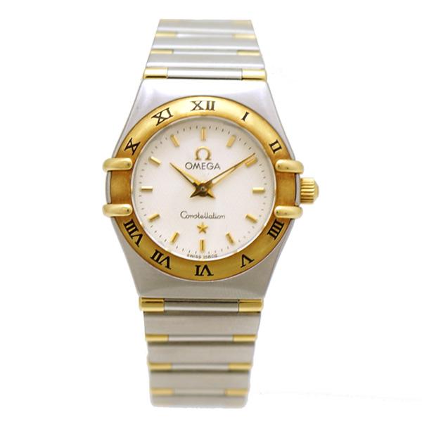 【中古】オメガ レディース腕時計 コンステレーションミニ 1362.30 SS 白文字盤 クォーツ OMEGA [送料無料]
