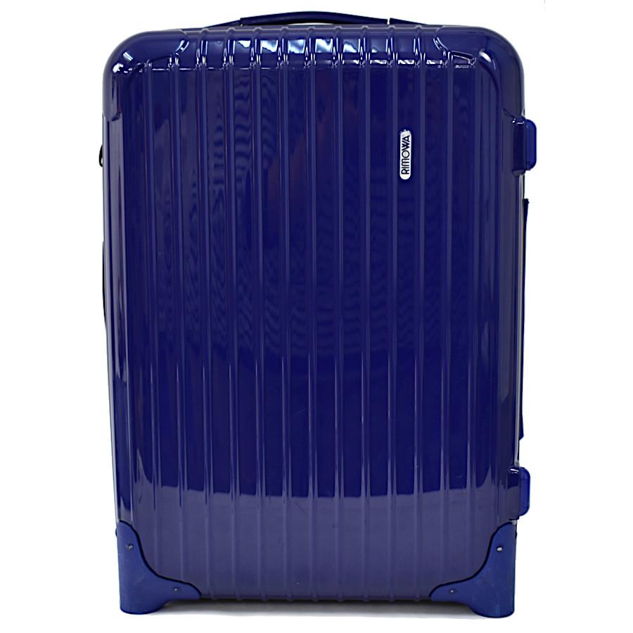 【キャッシュレス5%還元】【中古】リモワ スーツケース サルサ 85752 ポリカーボネート ブルー 33L RIMOWA 【送料無料】