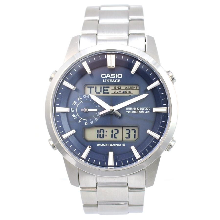 【キャッシュレス5%還元】【中古】カシオ メンズ 腕時計 ウェーブセプター リニエージ LCW-M600 ソーラー電波 クロノグラフ CASIO【送料無料】