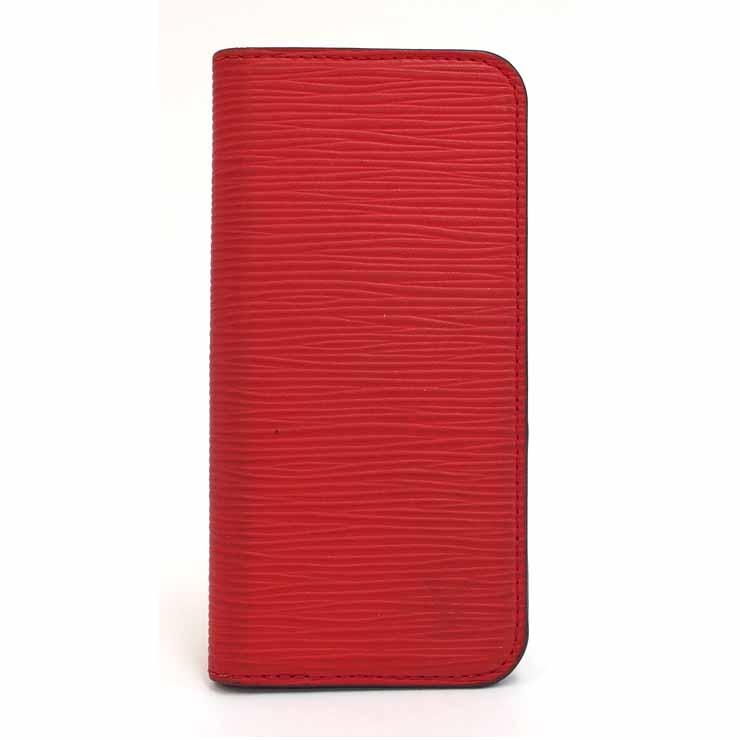 【中古】ルイヴィトン iPhoneケース iPhone6フォリオ M56257 エピ レッド LOUIS VUITTON [送料無料]