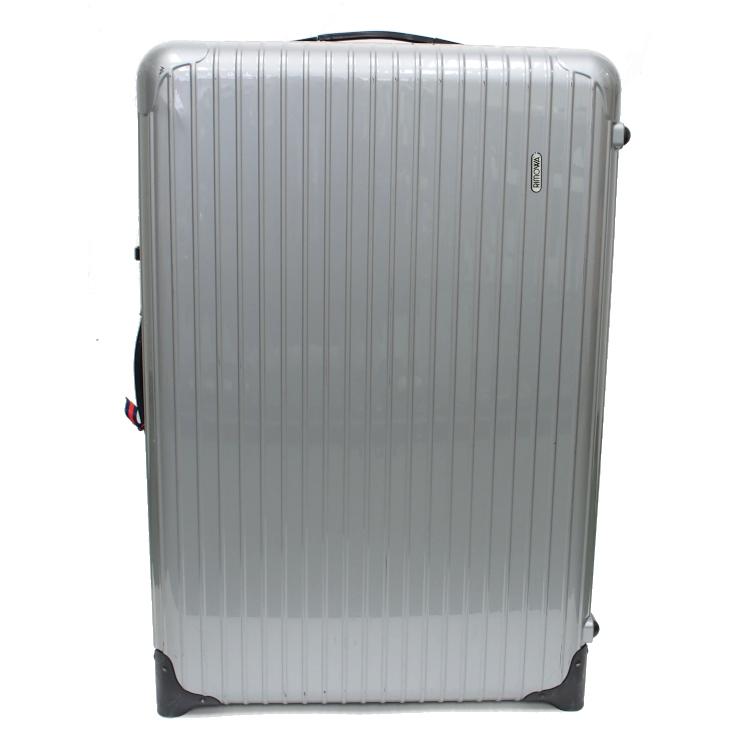 【中古】リモワ スーツケース サルサ トローリー 856.77 ポリカーボネート グレー 104L RIMOWA 【送料無料】
