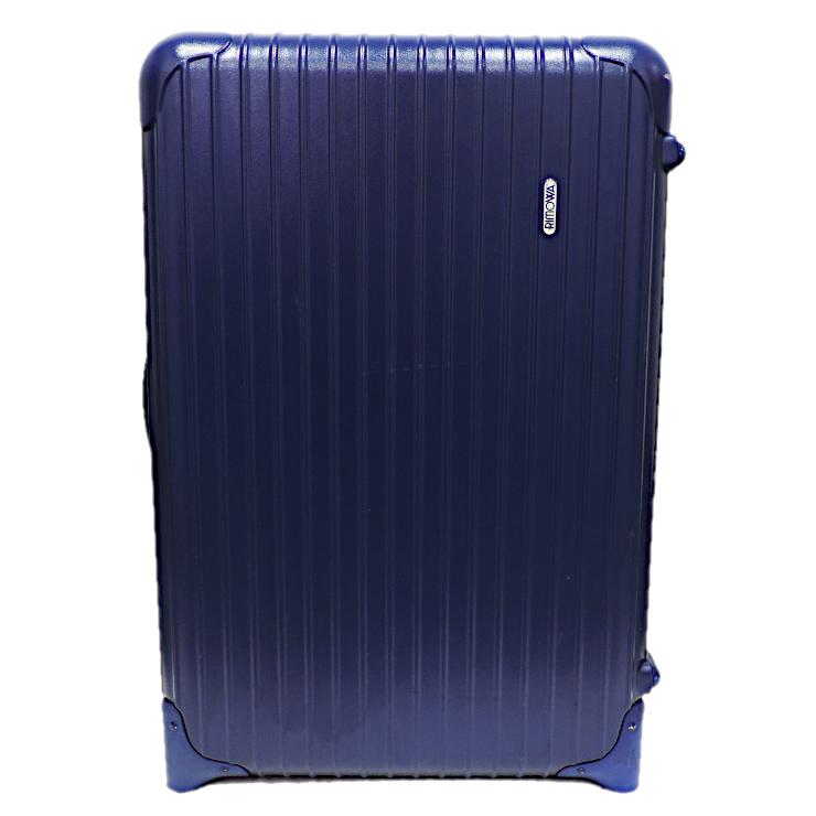 【中古】リモワ スーツケース サルサ 814.63 ポリカーボネート ブルー 63L RIMOWA 【送料無料】