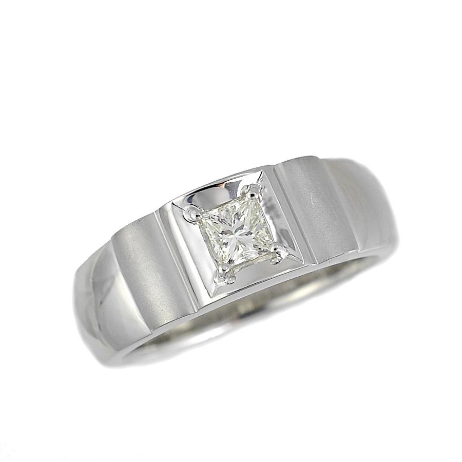 【キャッシュレス5%還元】[中古]リング プラチナ900 ダイヤモンド 0.302ct レディース ジュエリー [送料無料]