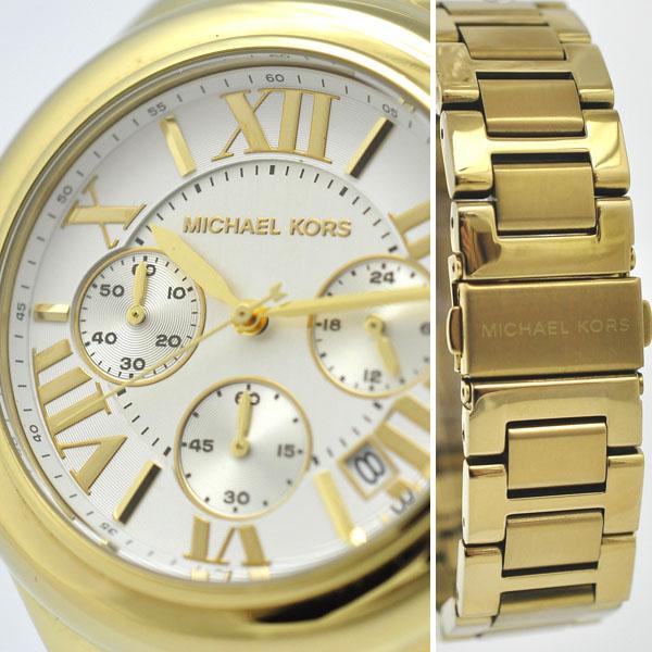 277e4112ae83 MICHAELKORS/マイケルコース/レディース腕時計/クオーツ/MK-5635/クロノグラフ
