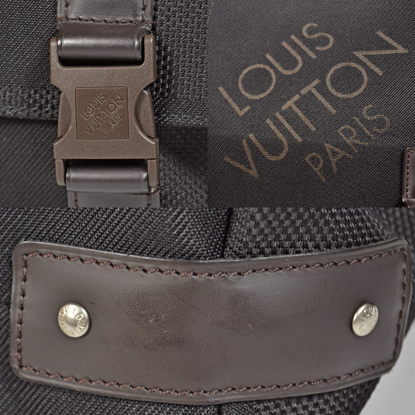 LOUIS VUITTON ルイヴィトン ダミエ ジェアン M93079 ルー ショルダーバッグ ノワール送料無料jqUpzMVGLS