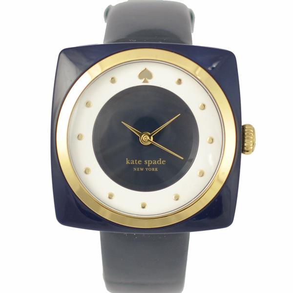 ケイトスペード kate spade レディース腕時計 ネイビー エナメルベルト LIVE COLORFULLY クオーツ【中古】【送料無料】