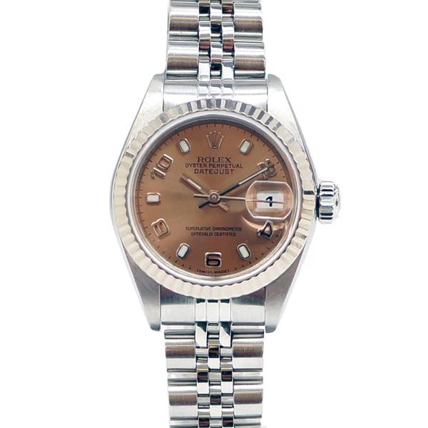 【驚きの値段で】 ROLEX ロレックス デイトジャスト 79174 P番 レディース腕時計 自動巻き 【】【送料無料】, ポッチワン 118fca7f
