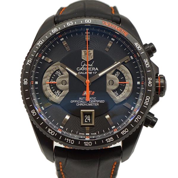 TAG HEUER タグホイヤー グランドカレラ CAV518K.FC6268 チタン 自動巻き メンズ腕時計 【中古】【送料無料】
