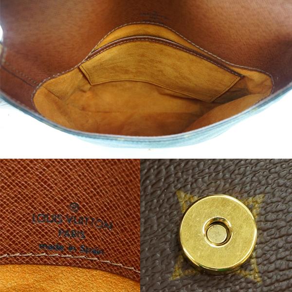 路易威登交织字母小风笛洋菝葜短M51258 LM0090经典路易威登挎包威登包Shoulder Bag LOUIS VUITTON