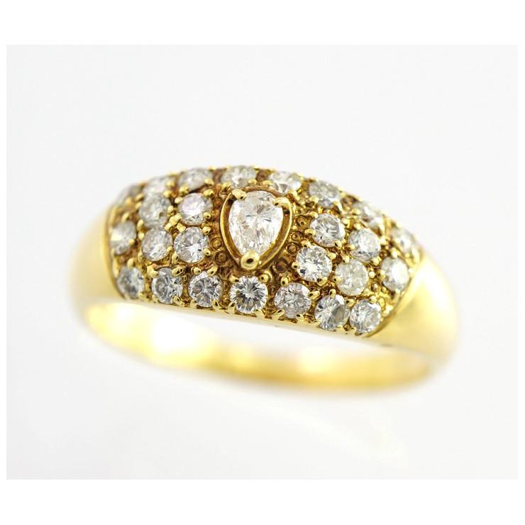 人気大割引 【中古】指輪 リング K18 K18 ダイヤモンド 17号 1.00ct リング 17号 [送料無料], きものレンタル さくら:4cad109d --- rarspoliplas.com