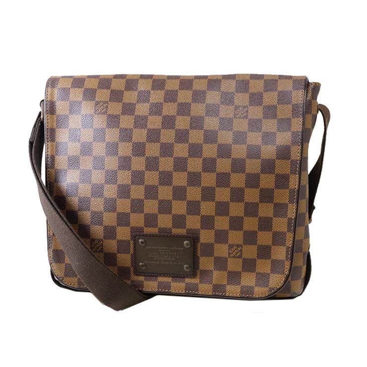 e6ea7795ea51 LOUIS VUITTON Louis Vuitton Brooklyn MM N51211 CA0182     shoulder bags    Damier Ebene  used   free shipping