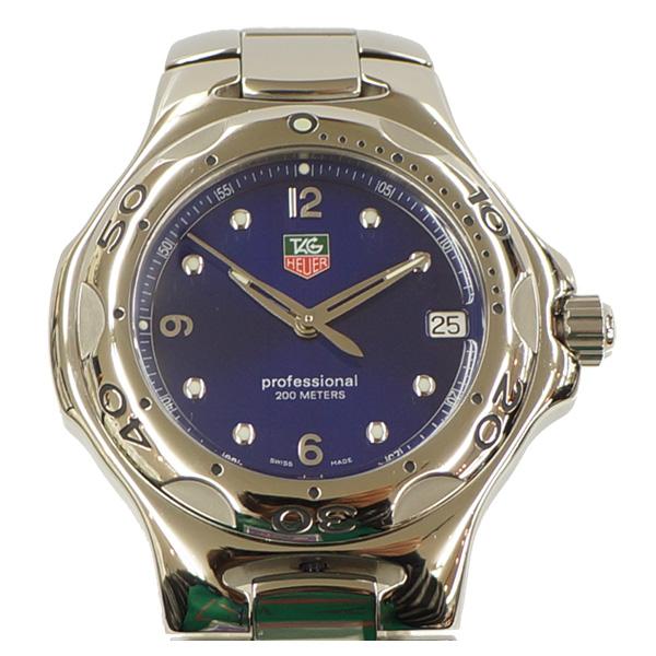 【キャッシュレス5%還元】TAG HEUER タグホイヤー キリウム メンズ腕時計 クォーツ WL1116 ランクA【中古】【送料無料】