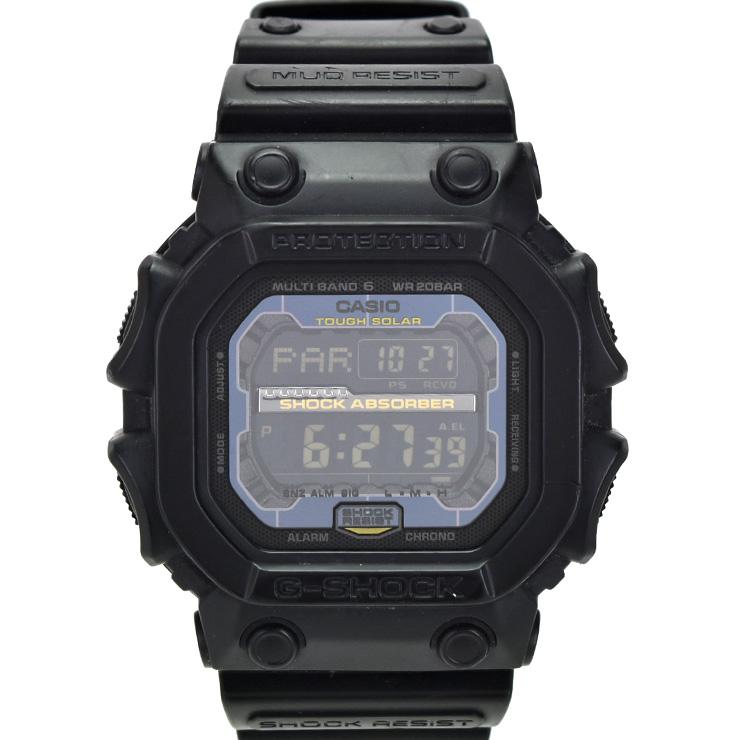 【中古】カシオ G-SHOCK メンズ 腕時計 タフソーラー 樹脂 黒文字盤 GXW-56GB-1JF CASIO [送料無料]